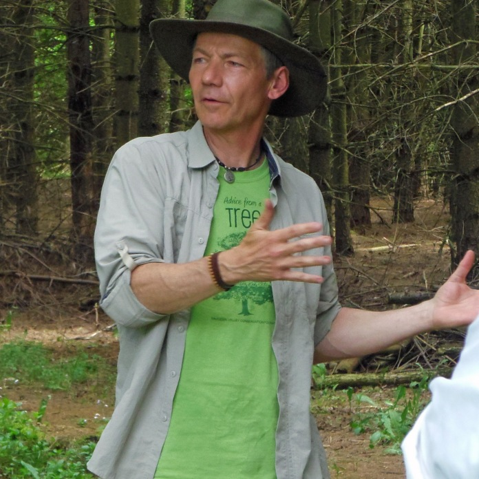Your forest therapy guide, Neil Baldwin