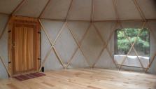 yurt - interior door